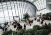 Lufthavn med flot arkitektur